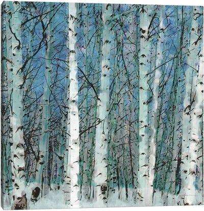 Birchgrove Canvas Art Print