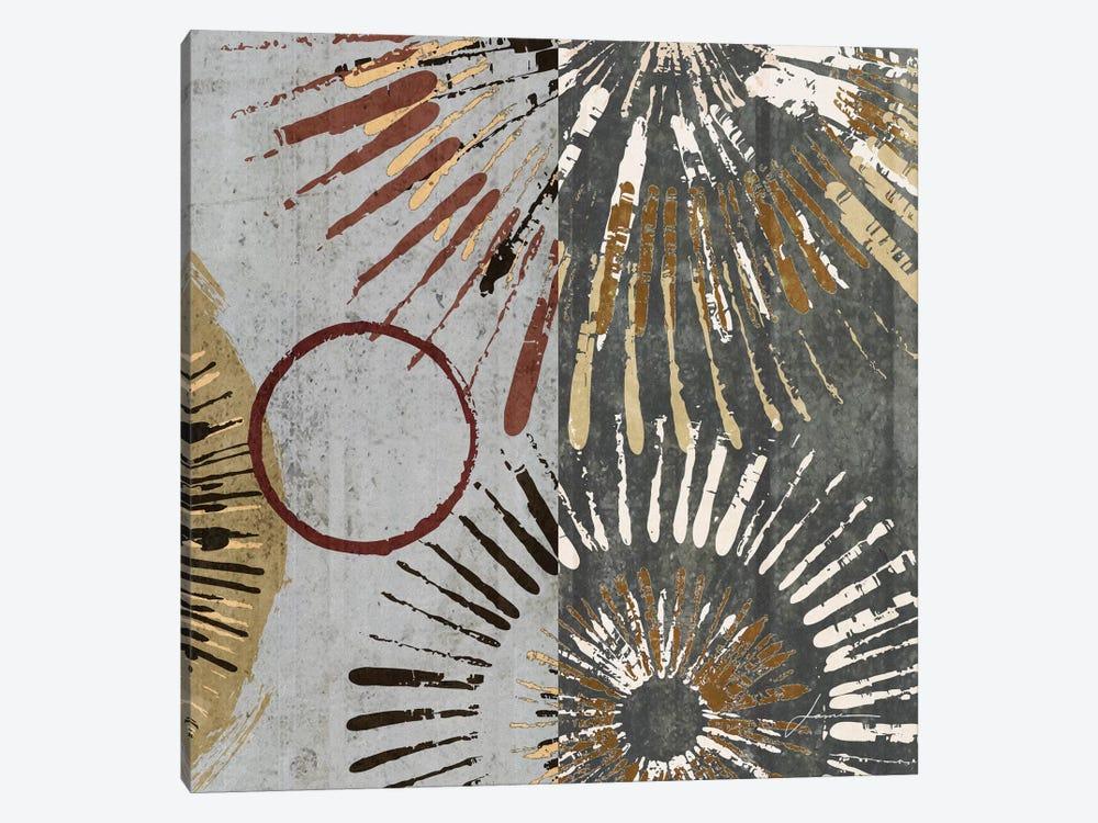 Outburst Tiles II by James Burghardt 1-piece Canvas Art