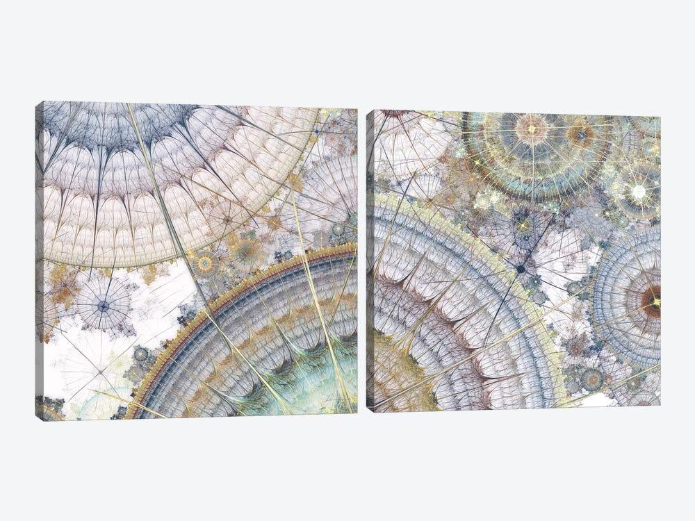 Clockworks Diptych I by James Burghardt 2-piece Canvas Art Print