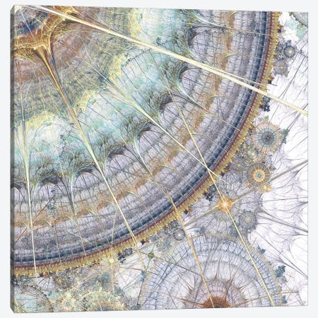 Clockworks IV 3-Piece Canvas #BRG32} by James Burghardt Canvas Print