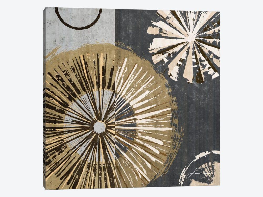 Outburst Tiles IV by James Burghardt 1-piece Canvas Artwork