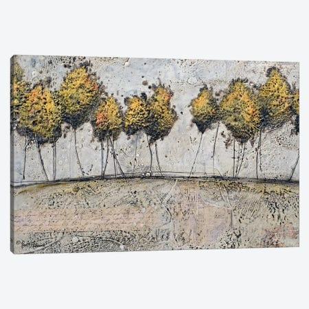 A Route of Gold Canvas Print #BRH13} by Britt Hallowell Canvas Artwork