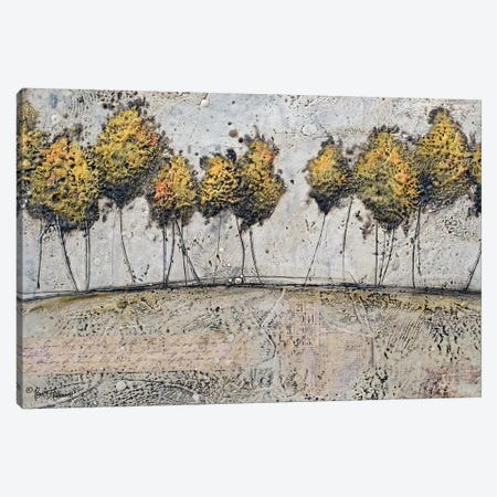 A Route of Gold Canvas Print #BRH13} by Britt Hallowell Canvas Artwork