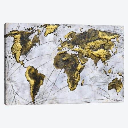A Wonderful World Canvas Print #BRH14} by Britt Hallowell Canvas Art Print