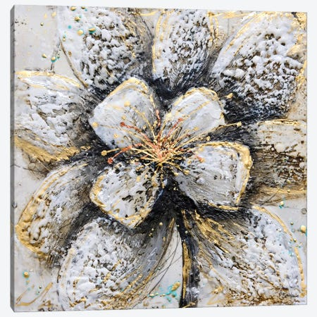 Explosion of Petals Canvas Print #BRH15} by Britt Hallowell Canvas Print