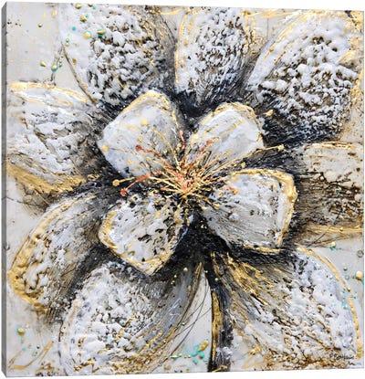Explosion of Petals Canvas Art Print