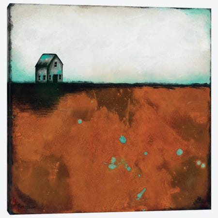 Country Solace Canvas Print #BRH1} by Britt Hallowell Canvas Artwork