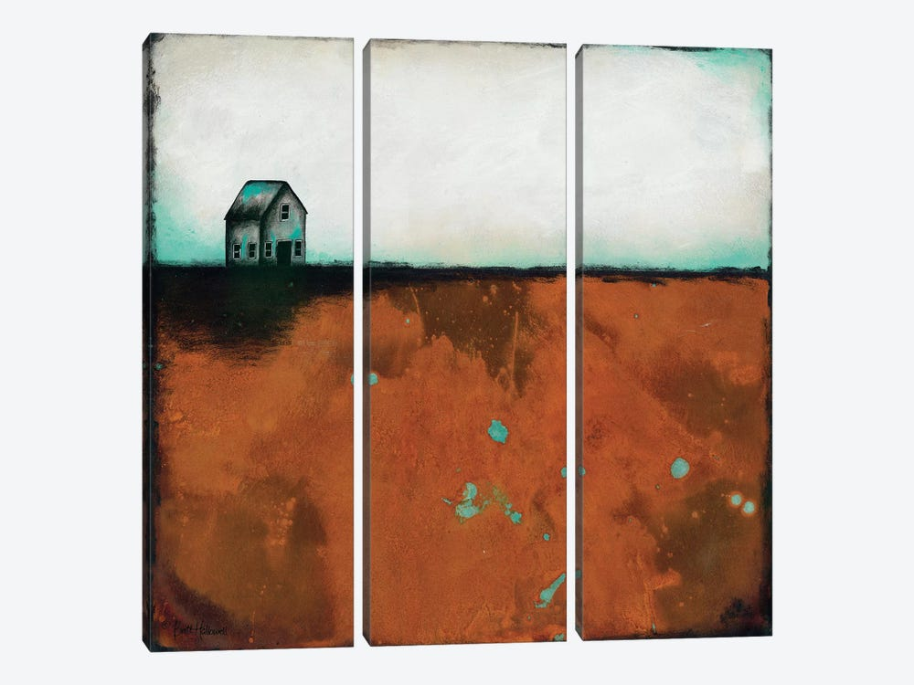 Country Solace by Britt Hallowell 3-piece Canvas Artwork