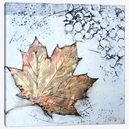 Channeling Fall I Canvas Print #BRH23} by Britt Hallowell Canvas Print