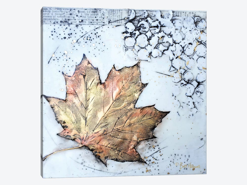 Channeling Fall I by Britt Hallowell 1-piece Canvas Wall Art