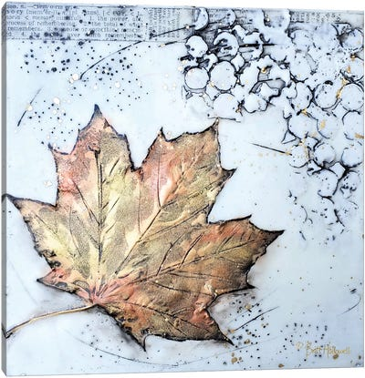 Channeling Fall I Canvas Art Print