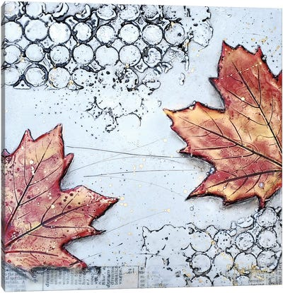 Channeling Fall III Canvas Art Print