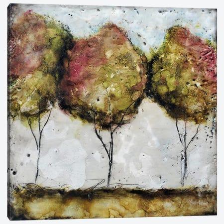 A Fall Stroll Canvas Print #BRH31} by Britt Hallowell Canvas Artwork