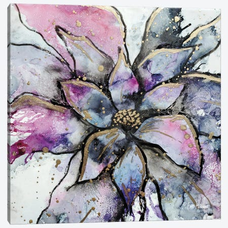 Blooming 3 Canvas Print #BRH39} by Britt Hallowell Canvas Art