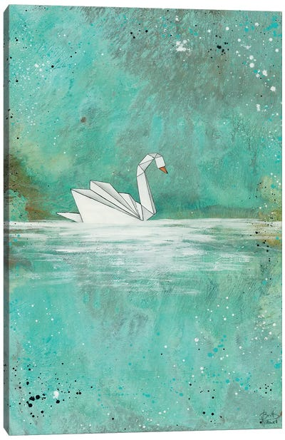 Serenity Lake Canvas Art Print