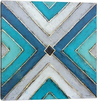 Geometric Common Ground Canvas Art Print