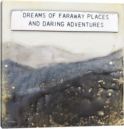 Dream Of Faraway Places Canvas Art Print