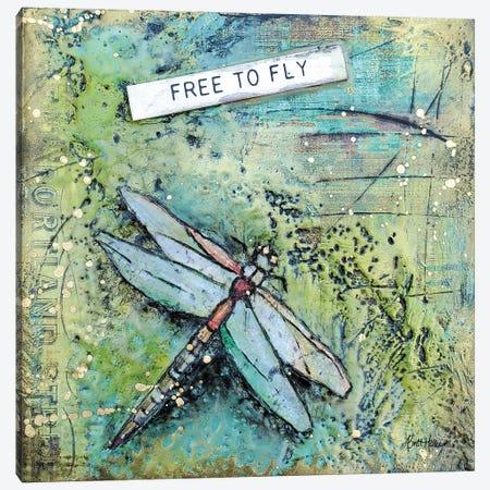 Free To Fly Canvas Print #BRH49} by Britt Hallowell Art Print