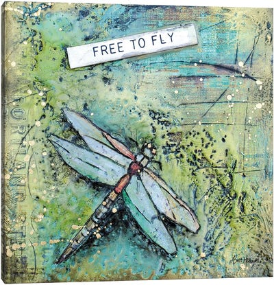 Free To Fly Canvas Art Print