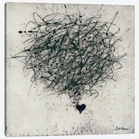 Crazy Love Canvas Print #BRH4} by Britt Hallowell Canvas Print