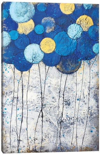 Bubble Trees Magic Canvas Art Print