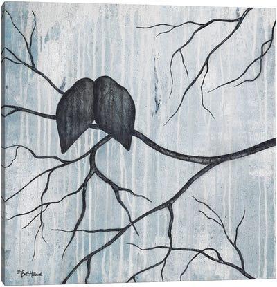Remnant Of Rain Canvas Art Print