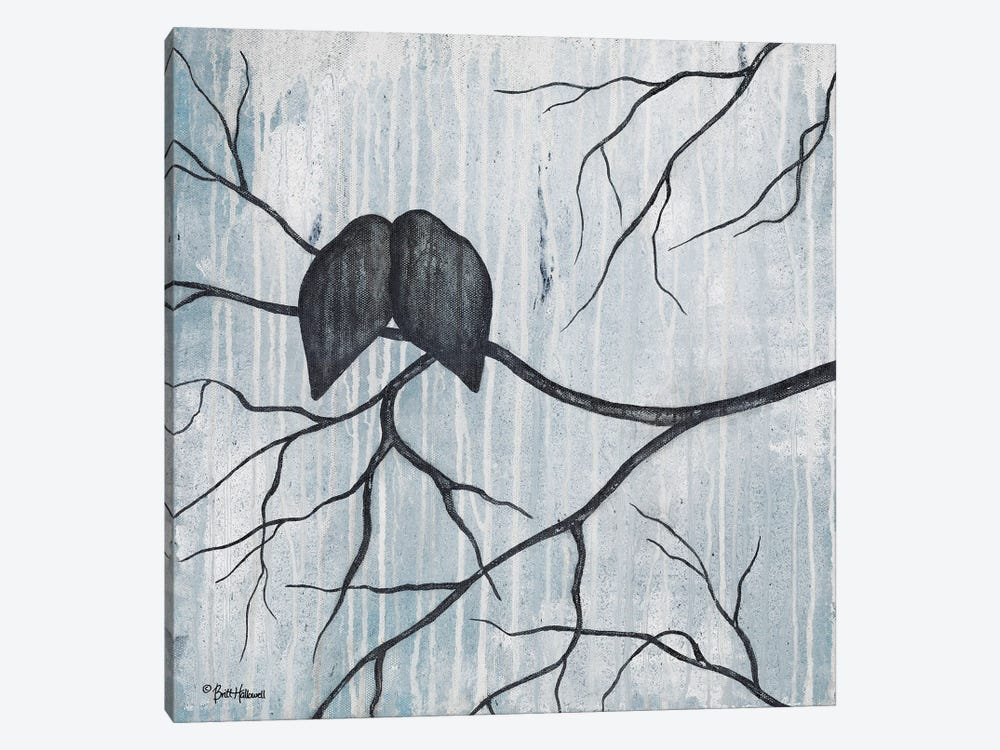 Remnant Of Rain by Britt Hallowell 1-piece Canvas Art