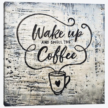 Wake Up And Smell The Coffee Canvas Print #BRH66} by Britt Hallowell Canvas Art