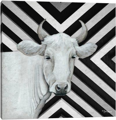 January Cow I Canvas Art Print