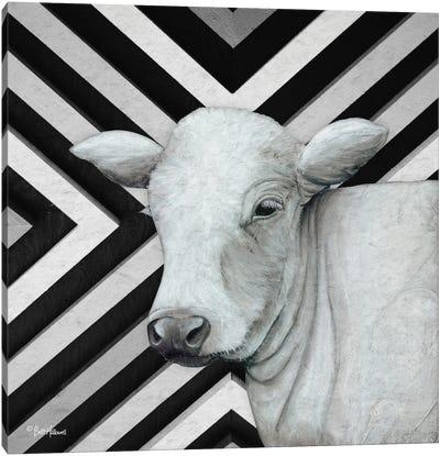January Cow II Canvas Art Print