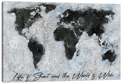 The World Is Wide Canvas Art Print