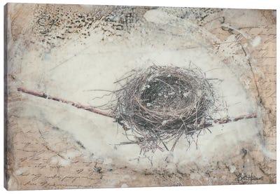 Wintering Canvas Art Print