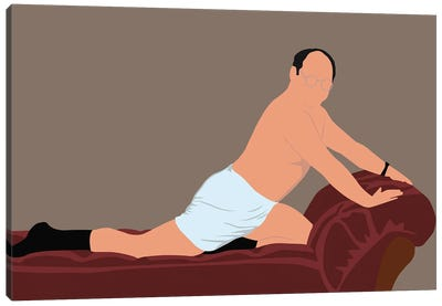 George Costanza The Timeless Art Of Seduction Canvas Art Print
