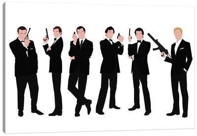 James Bond Canvas Art Print