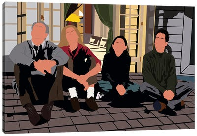 3rd Rock From The Sun Canvas Art Print