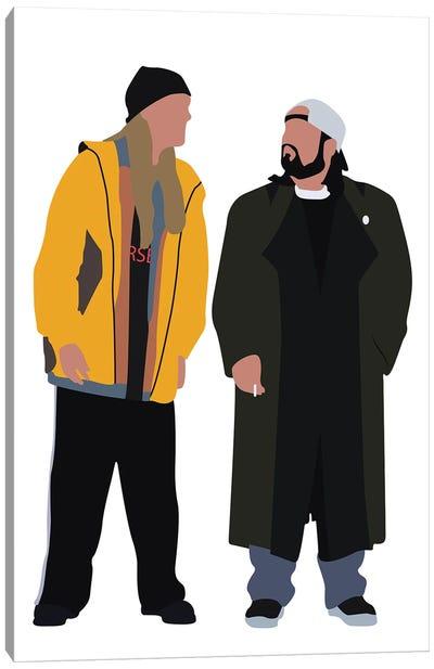 Jay And Silent Bob Canvas Art Print