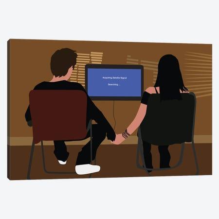 Jesse Pinkman & Jane Marglis, Breaking Bad Canvas Print #BRJ21} by BoRiljana Canvas Print