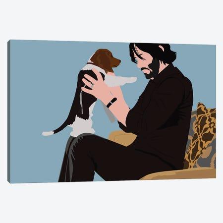 John Wick Canvas Print #BRJ25} by BoRiljana Canvas Artwork