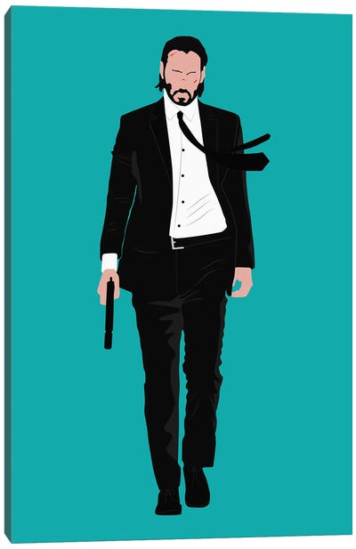 Keanu Reeves - John Wick Canvas Art Print