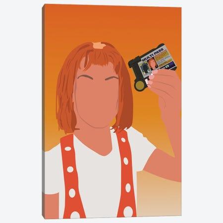 Leelooo The Fifth Element Canvas Print #BRJ30} by BoRiljana Canvas Wall Art