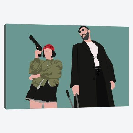 Leon And Mathilda Canvas Print #BRJ31} by BoRiljana Canvas Art