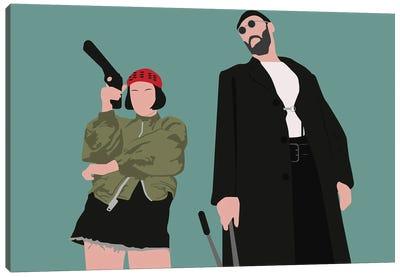 Leon And Mathilda Canvas Art Print