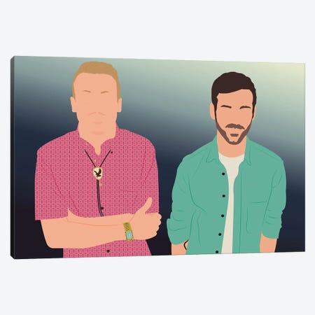 Macklemore And Ryan Lewis Canvas Print #BRJ34} by BoRiljana Canvas Art Print