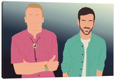 Macklemore And Ryan Lewis Canvas Art Print