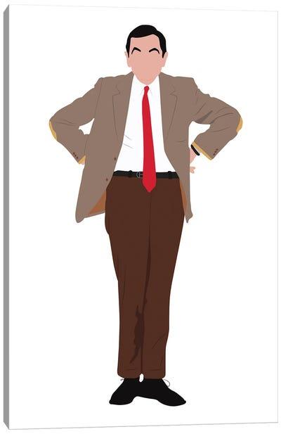 Mr. Bean Canvas Art Print