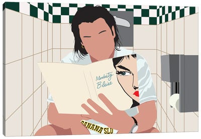 Pulp Fiction Vincent Vega Canvas Art Print