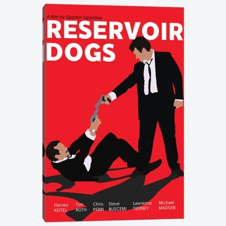 Reservoir Dogs Canvas Print #BRJ37} by BoRiljana Canvas Print