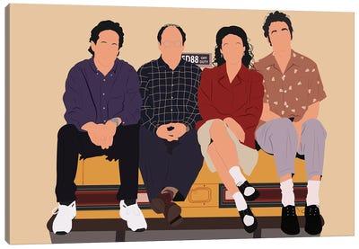Seinfeld Canvas Art Print
