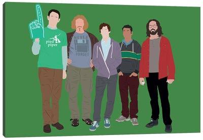 Silicon Valley Canvas Art Print