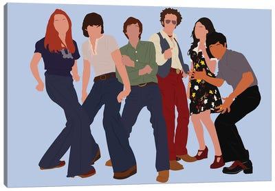 That 70'S Show II Canvas Art Print